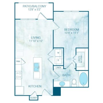 Apartment 4305 floor plan