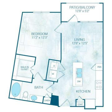 Apartment 4317 floor plan