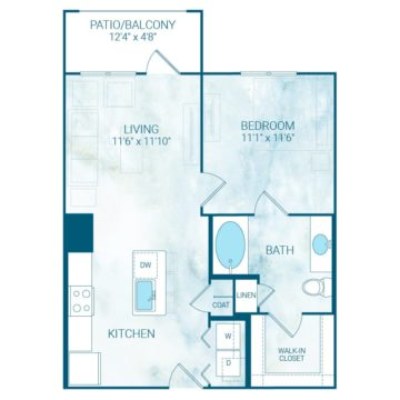 Apartment 4231 floor plan