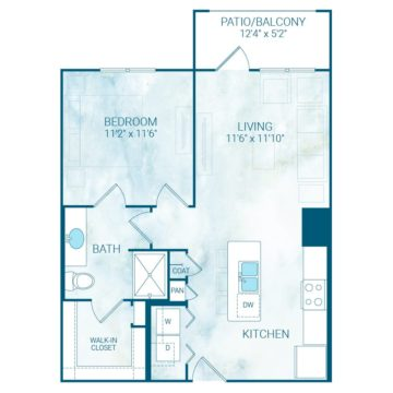 Apartment 4225 floor plan