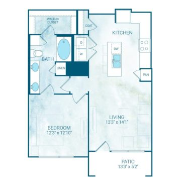 Apartment 4126 floor plan