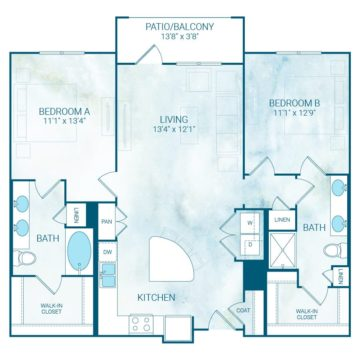 Apartment 4230 floor plan